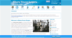 Preview of albanyhousesurgeryworcester.co.uk